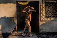 Hydriss, 35 ετών Brazzaville. © Tariq Zaidi