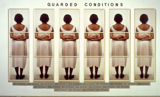 Guarded Conditions (1989) ©Lorna Simpson