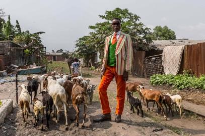 Μαξίμ, 43 ετών, Brazzaville. © Tariq Zaidi