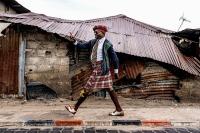Σερζ, 39 ετών, Brazzaville. © Tariq Zaidi