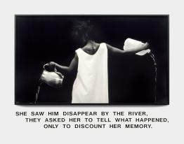 Waterbearer (1986) ©Lorna Simpson