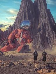 home planet Christie's Images Ltd/Beeple
