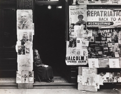 Beuford Smith, Woman in Doorway, Harlem, 1965. © Beuford Smith