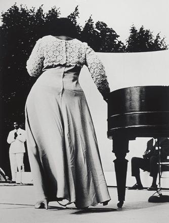 Herb Robinson, Mahalia Jackson, 1969 © Herb Robinson