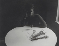 Ray Francis, Untitled (woman at table), 1960s–70s Collection of Shawn Walker